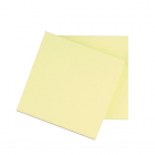 Q-Connect INKT.nl huismerk sticky notes geel 75 x 75 mm KF10502